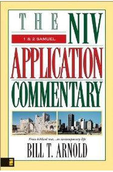 1 and 2 Samuel (The NIV Application Commentary) 9780310210863