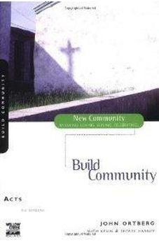 Acts: Build Community 9780310227700
