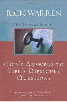 God's Answers to Life's Difficult Questions Study Guide 9780310326922