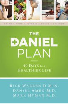 The Daniel Plan: 40 Days to a Healthier Life 9780310339434