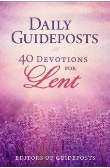 Image of Daily Guideposts: 40 Devotions for Lent 9780310350224