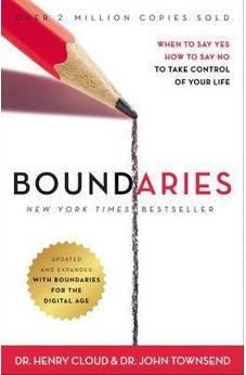 Image of Boundaries Updated and Expanded Edition: When to Say Yes, How to Say No To Take Control of Your Life 9780310351801