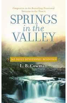 Springs in the Valley: 365 Daily Devotional Readings 9780310354482