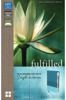 Fulfilled: The NIV Devotional Bible for the Single Woman 9780310407836