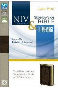 NIV/Message Side-by-Side Bible, Large Print 9780310410263