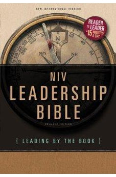 NIV Leadership Bible: Leading by The Book 9780310422952