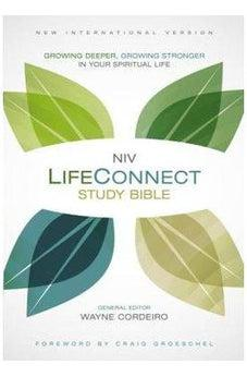 NIV, LifeConnect Study Bible, Hardcover, Red Letter Edition: Growing Deeper, Growing Stronger in Your Spiritual Life 9780310426400