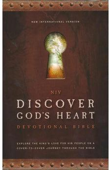 NIV Discover God's Heart Devotional Bible: Explore the King's Love for His People on a Cover-to-Cover Journey Through the Bible (hardcover) 9780310429524
