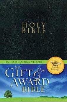 NIV Gift & Award Bible Black  9780310434375