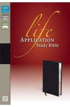 NIV Life Application Study Bible | bonded leather, black 9780310434481