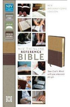 NIV Thinline Reference Bible (Italian Duo-Tone) 9780310436232