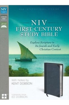 NIV First-Century Study Bible: Explore Scripture in Its Jewish and Early Christian Context 9780310440185