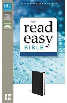 NIV, ReadEasy Bible, Imitation Leather, Black, Lay Flat 9780310441625