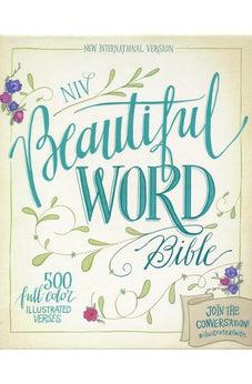 NIV Beautiful Word Bible | soft leather-look, taupe & cranberry 9780310444275