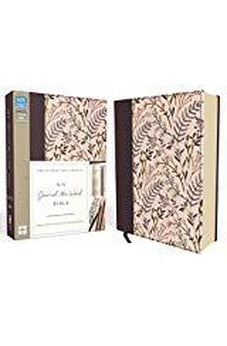 NIV, Journal the Word Bible, Cloth over Board, Pink Floral: Reflect, Journal 9780310445166