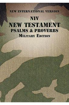 NIV New Testament with Psalms and Proverbs, Military Edition, Paperback, Woodland Camo 9780310446156