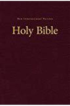 NIV, Value Pew and Worship Bible, Hardcover, Burgundy 9780310446231