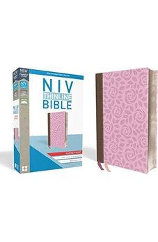 NIV, Thinline Bible, Large Print, Leathersoft, Pink, Red Letter Edition, Comfort Print