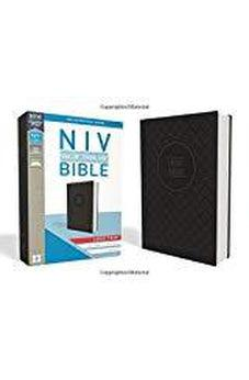 NIV, Value Thinline Bible, Large Print, Leathersoft, Gray/Black, Comfort Print