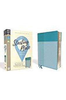 NIV, Starting Place Study Bible, Leathersoft, Teal, Comfort Print 9780310450726