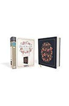 NIV, Journal the Word Bible for Women, Cloth over Board, Navy, Red Letter Edition, Comfort Print 9780310450764