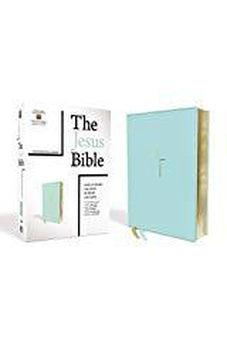 NIV The Jesus Bible, Leathersoft, Blue, Comfort Print 9780310452256