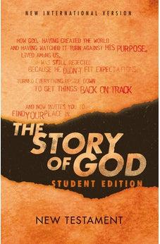 NIV, The Story of God, Student Edition, New Testament, Paperback 9780310452638