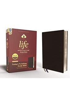 NIV, Life Application Study Bible, Third Edition, Bonded Leather, Black, Red Letter Edition 9780310452775