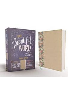 NIV, Beautiful Word Bible, Updated Edition, Peel/Stick Bible Tabs, Leathersoft over Board, Gold, Red Letter, Comfort Print 9780310453437