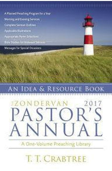 The Zondervan 2017 Pastor's Annual: An Idea and Resource Book 9780310493983