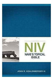 Zondervan NIV Nave's Topical Bible 9780310534884