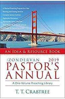 The Zondervan 2019 Pastor's Annual: An Idea and Resource Book 9780310536642