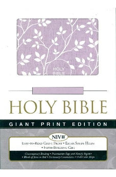 NIV Giant Print Holy Bible