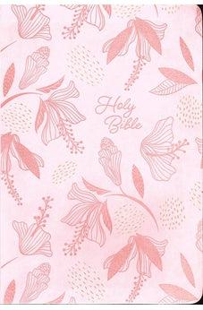 NIV Holy Bible, Giant Print, Pink Leathersoft
