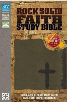 NIV Rock Solid Faith Study Bible for Teens: Build and defend your faith based on God's promises
