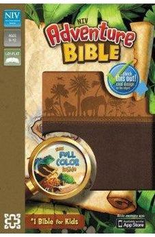NIV Adventure Bible, Leathersoft Brown