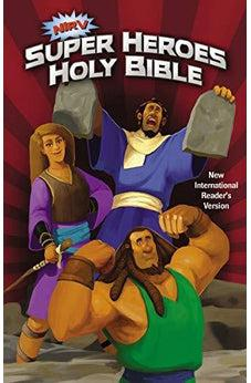 NIrV, Super Heroes Holy Bible, Hardcover 9780310744375