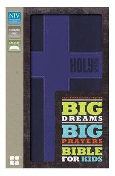 NIV, Big Dreams, Big Prayers Bible for Kids, Imitation Leather, Blue 9780310745310
