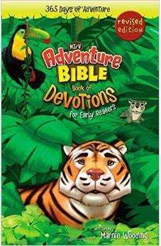Adventure Bible Book of Devotions for Early Readers, NIrV: 365 Days of Adventure 9780310746171