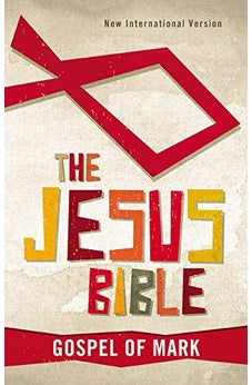 The Jesus Bible, NIV: Gospel of Mark 9780310749868