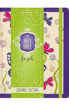 NIV, Holy Bible for Girls, Journal Edition, Hardcover, Purple, Elastic Closure 9780310759652