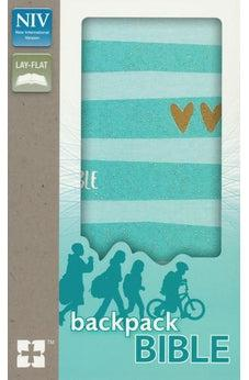 NIV, Backpack Bible, Compact, Flexcover, Teal 9780310760641
