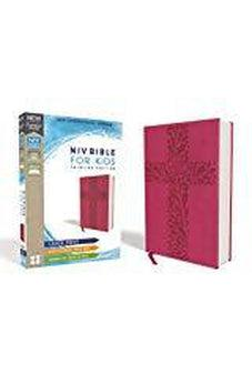 NIV, Bible for Kids, Large Print, Leathersoft, Pink, Red Letter Edition, Comfort Print: Thinline Edition 9780310764137