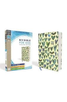 NIV, Bible for Kids, Large Print, Cloth over Board, Teal, Red Letter Edition, Comfort Print: Thinline Edition 9780310764199