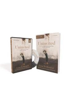 Image of Uninvited Study Guide with DVD: Living Loved When You Feel Less Than, Left Out, and Lonely 9780310886556