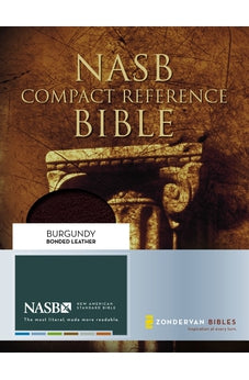 NASB Compact Reference Bible 9780310918868