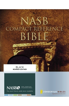 NASB Compact Reference Bible, Black Bonded Leather 9780310921448