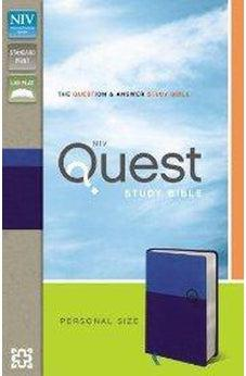 NIV Quest Study Bible, Personal Size: The Question and Answer Bible