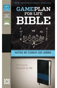 The Game Plan for Life Bible, NIV: Notes by Joe Gibbs 9780310949923