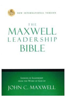 NIV, The Maxwell Leadership Bible, Hardcover, Brown: Briefcase Edition 9780718011680